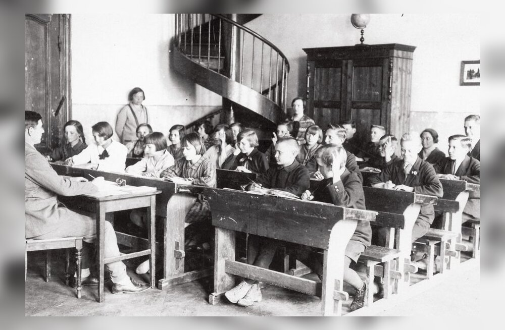 Enne sõda läksid maalapsed sageli alles oktoobris kooli