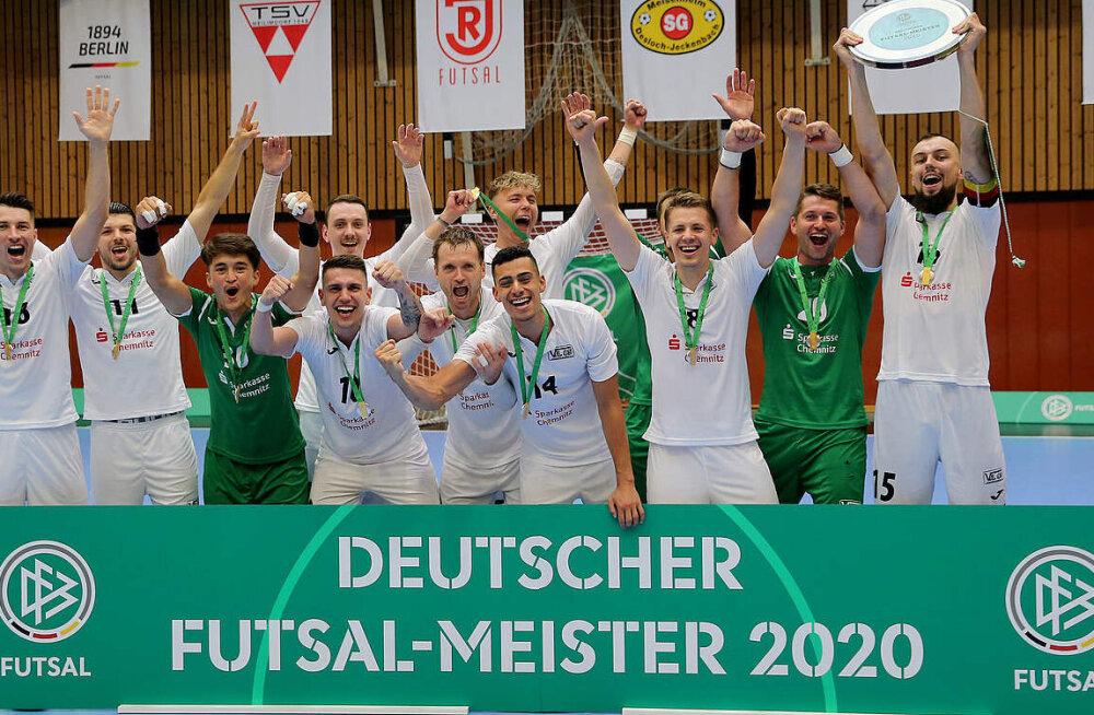 Saalijalgpalli Bundesliga: lähme Euroopat vallutama