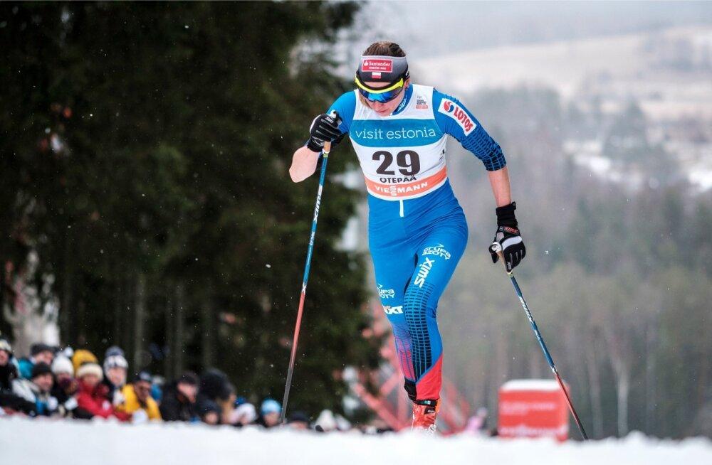 Justyna Kowalczyk Otepää MK-etapil 2017