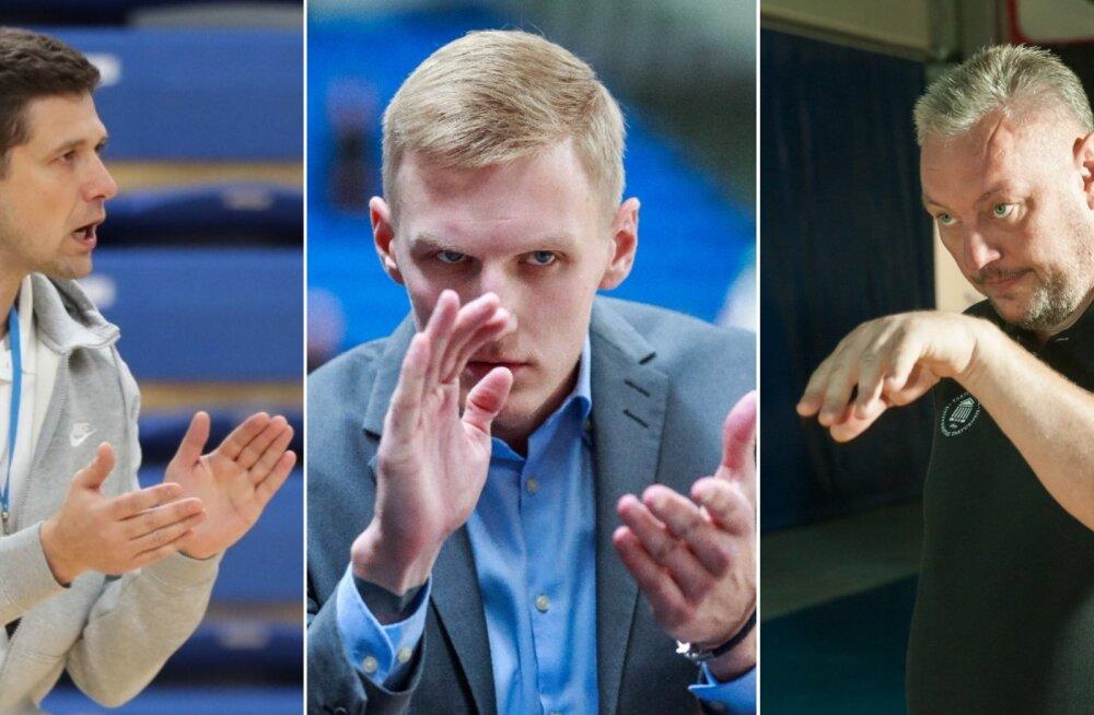 TÄHTEDE MÄNG | Selgusid Eesti klubide staarrivistuse kolm treenerit