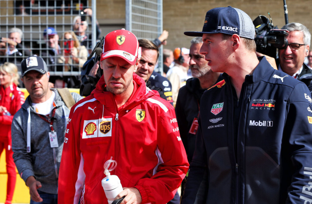 Max Verstappen: teadsin, et Sebastian Vettel on hea, kuid ma pole teda kunagi imeliseks sõitjaks pidanud