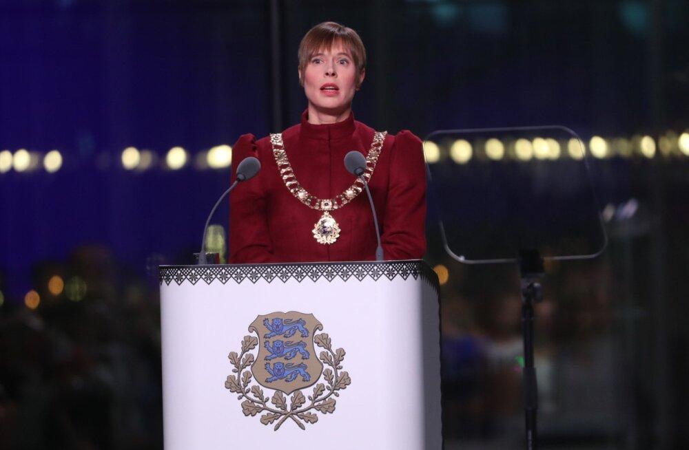 Анонс: Delfi будет транслировать новогоднюю речь президента Кальюлайд из Пярну
