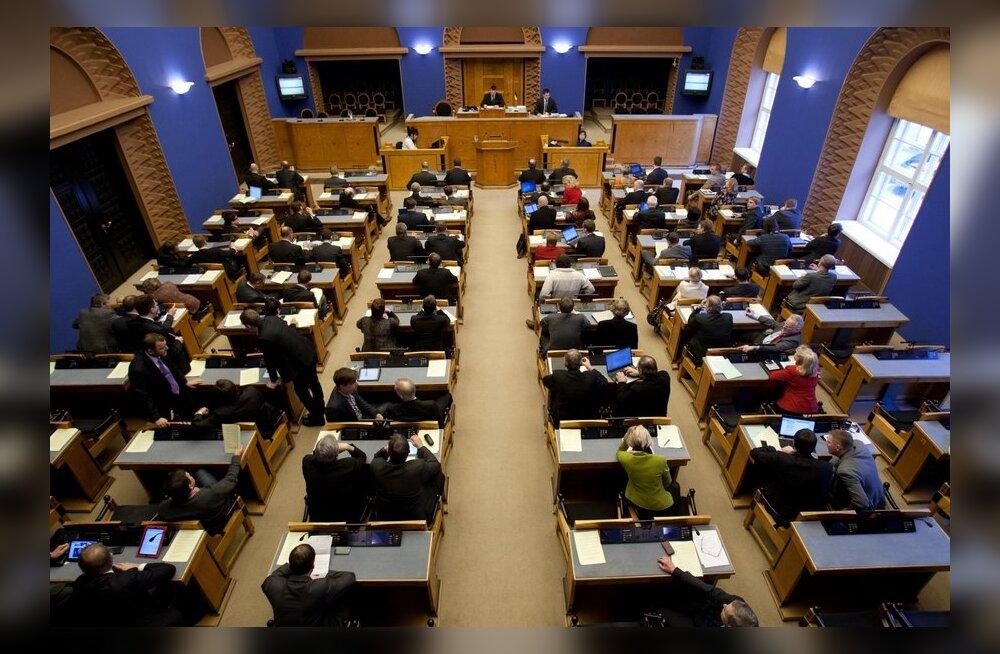 Riigikogu võttis presidendilt veto saanud seaduse uuesti menetlusse