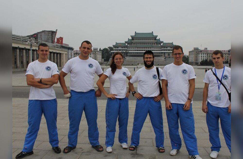 Eesti delegatsioon taekwon-do maailmameistrivõistlustel