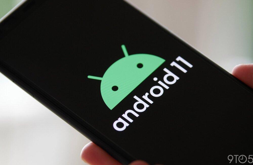 Android 11 on kohal – millal see su telefoni jõuab?