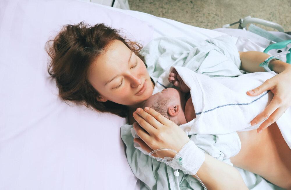 Naine pihib: kõhukrambid olid märk sellest, et hakkan kohe sünnitama, aga mul polnud aimugi, et ma üldse rase olen