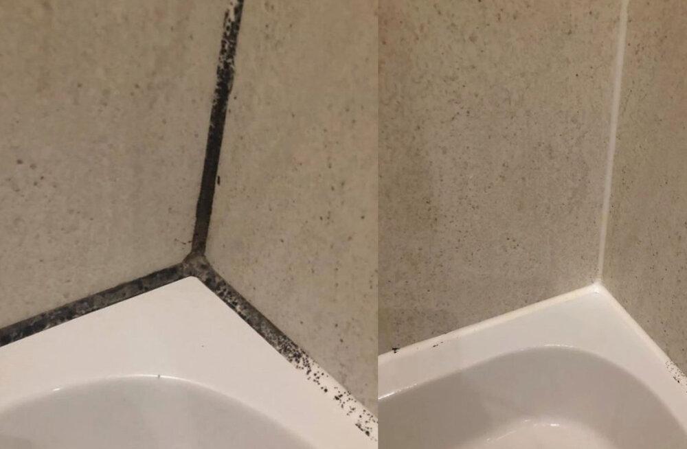 Vannitoa vuugivahed puhtaks! Vajad selleks vaid 2 juba kodus olemasolevat vahendit