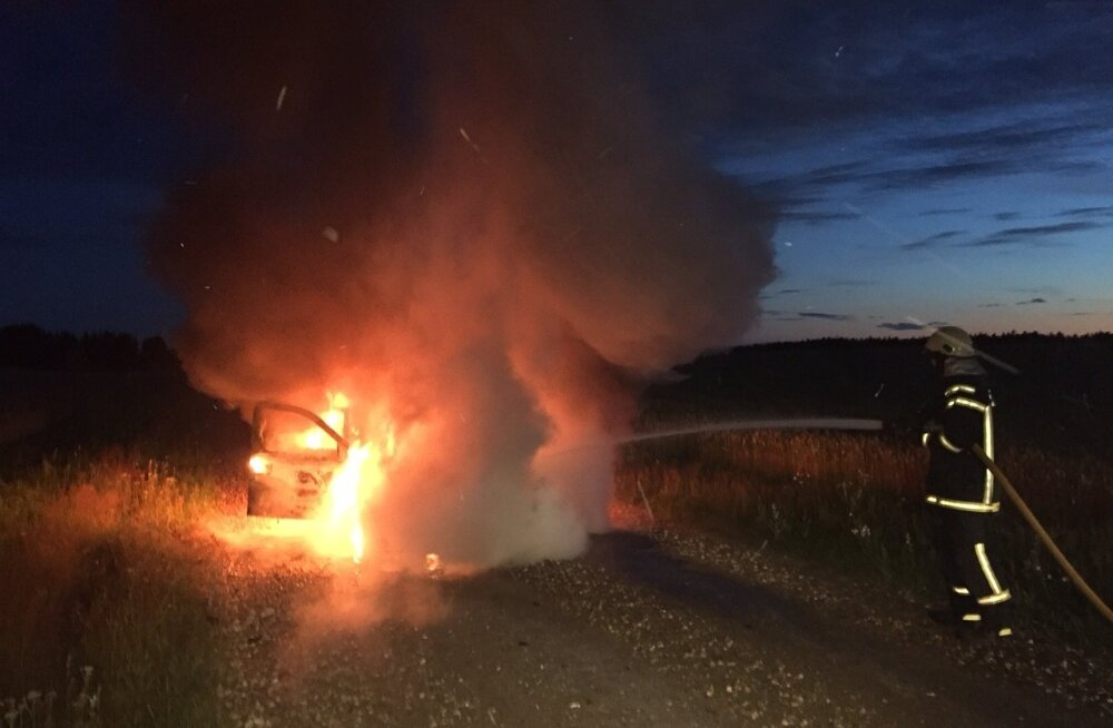 Autopõleng Järvamaal