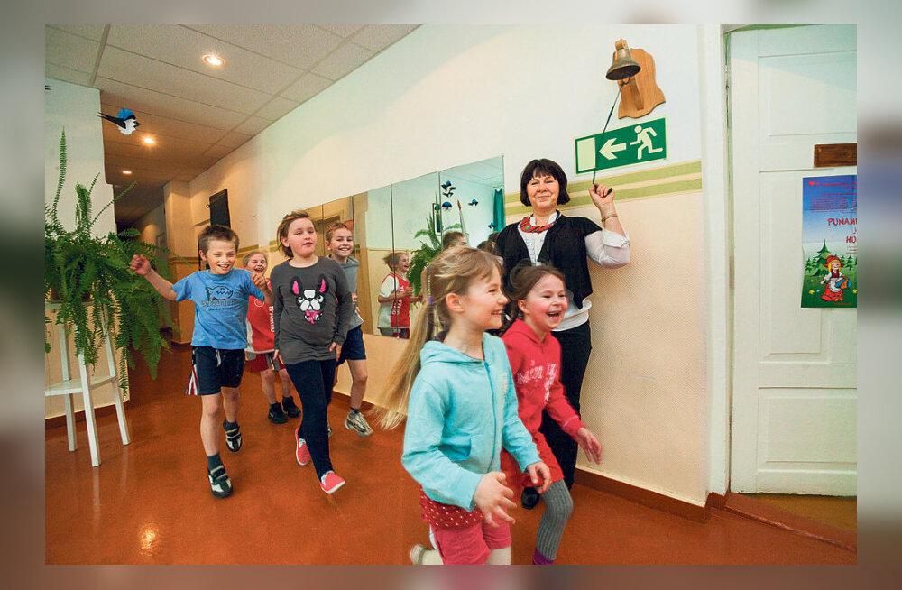 Üheksa last, järelikult sulgeme sügisest kooli