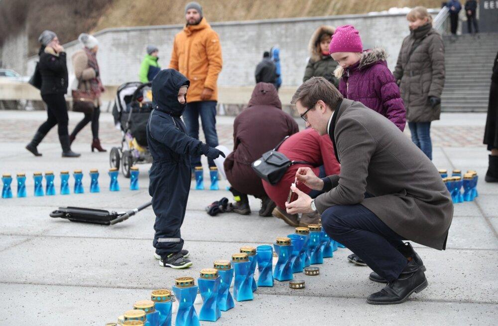 ГЛАВНОЕ ЗА ДЕНЬ: Эстония вспоминает депортации, гибель жителя Раквере в огне не была самоубийством