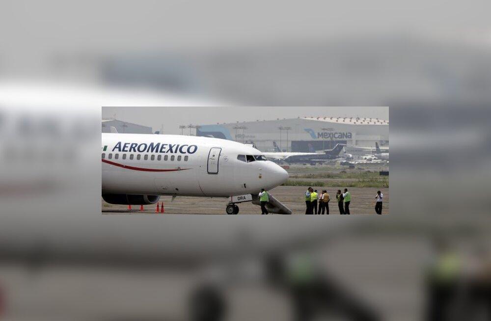 Mehhiko lennukikaaperdamine lõppes rahumeelselt