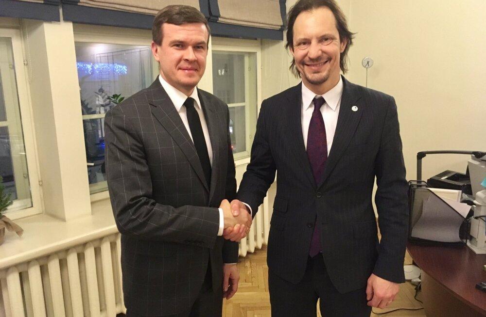 Witold Bańka ja Indrek Saar
