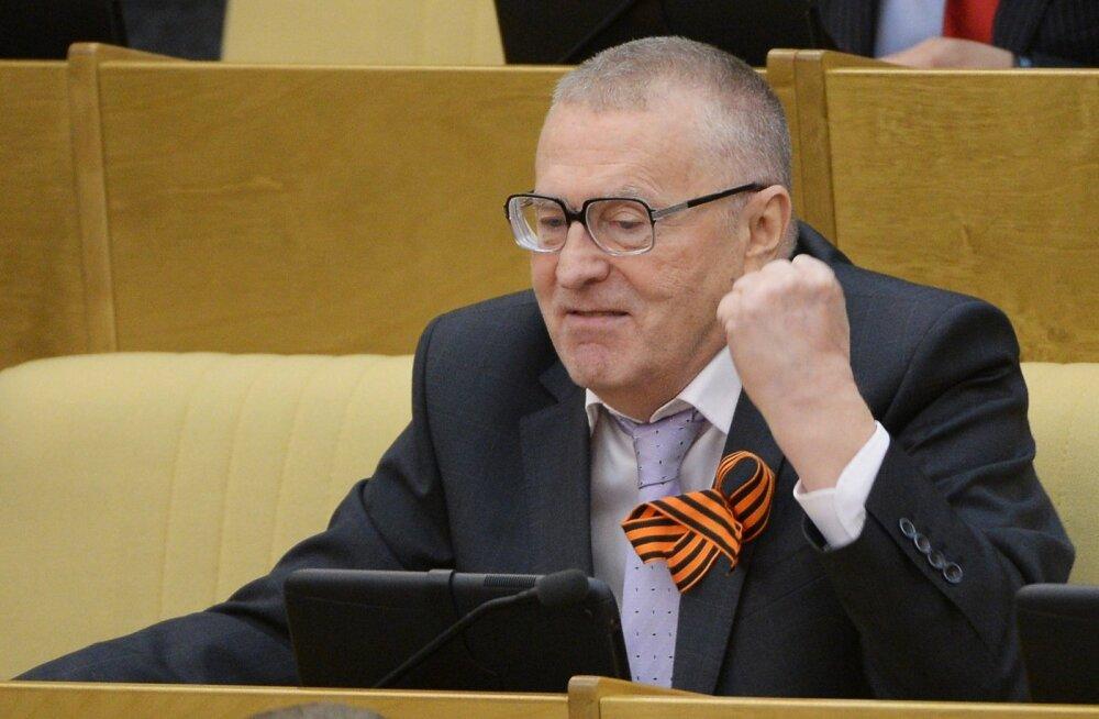 Leedu välisminister Žirinovskist: selliste poliitikute koht on loomaaias