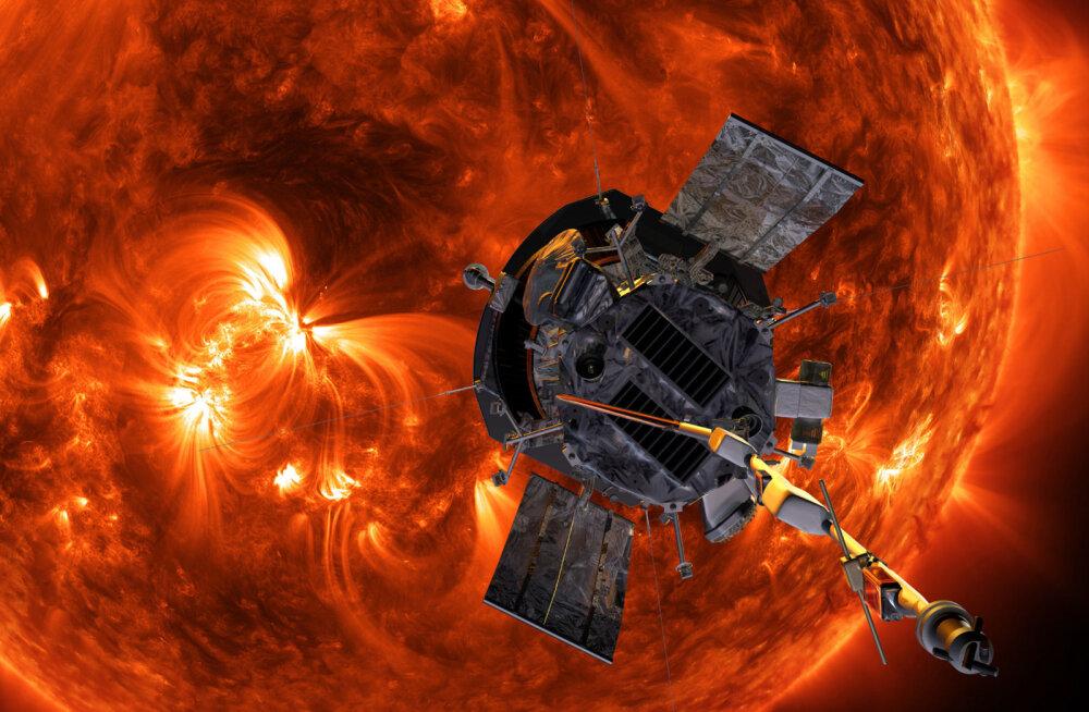 """Homme stardib NASA sond, mille eesmärk on """"puudutada Päikest"""""""