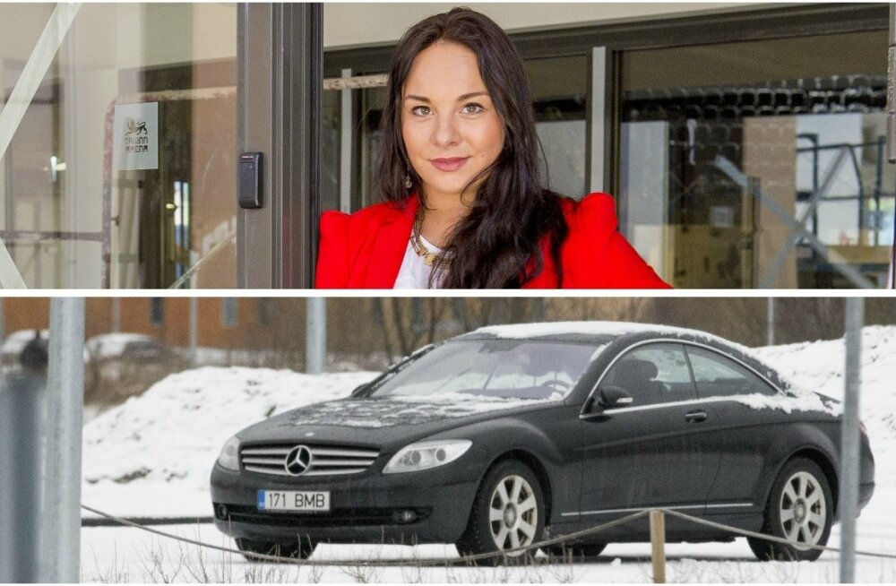 Jelena Glebova ja tema Mercedes Benz CL 500