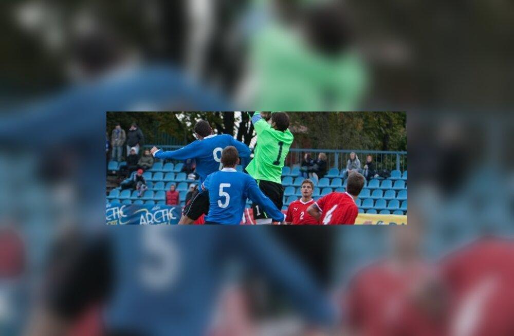 Eesti ja Šveitsi U21 jalgpall
