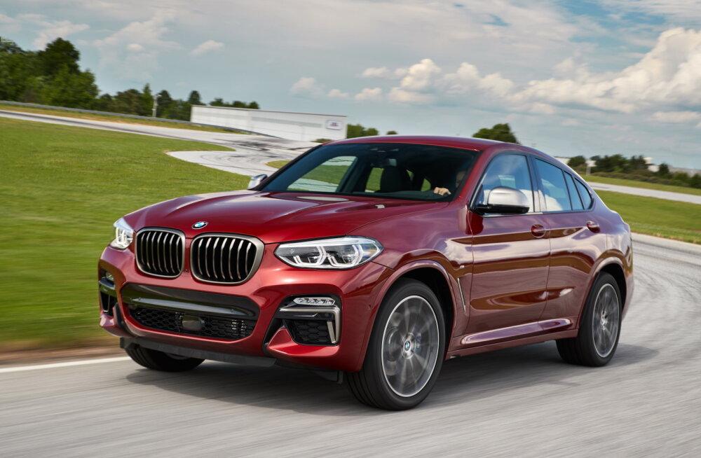 Proovisõit: BMW X4 teeb juhi rõõmsaks