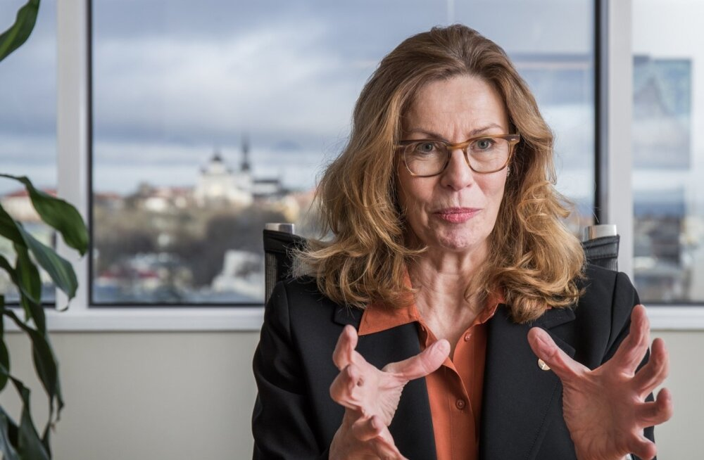 Brigitte Bonnesen - Swedbank grupi juhatuse esinaine