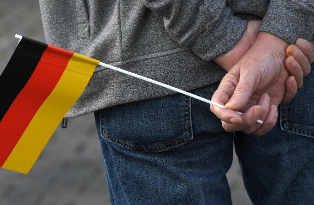 Saksa lipp