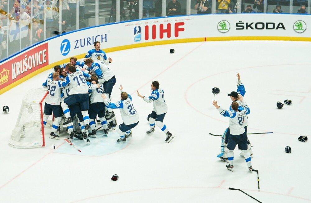 7-9 maailmameistriks tulnud soomlast võivad juba suvel pääseda NHL-i