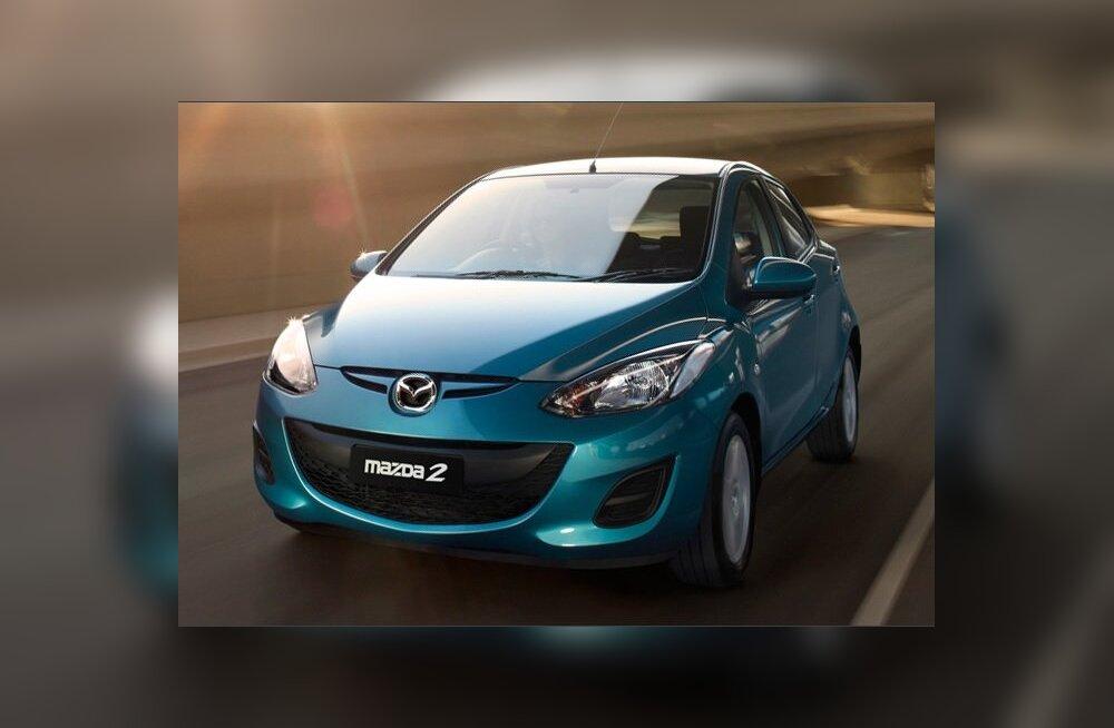 Mazda2 valiti Jaapani aasta autoks