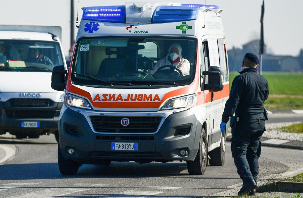 Itaalia jalgpalluril avastati koroonaviirus
