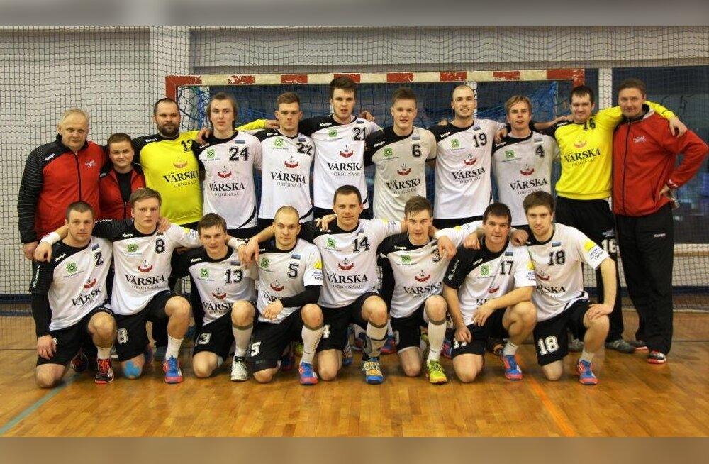 Põlva Serviti - 2014/15 hooaja Balti Liiga pronks