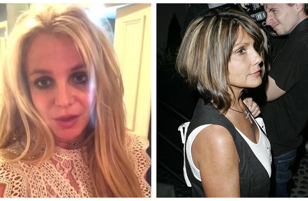 Sõda Britney üle: popprintsessi ema ja isa kaklevad vaimselt vaevatud staari pärast!