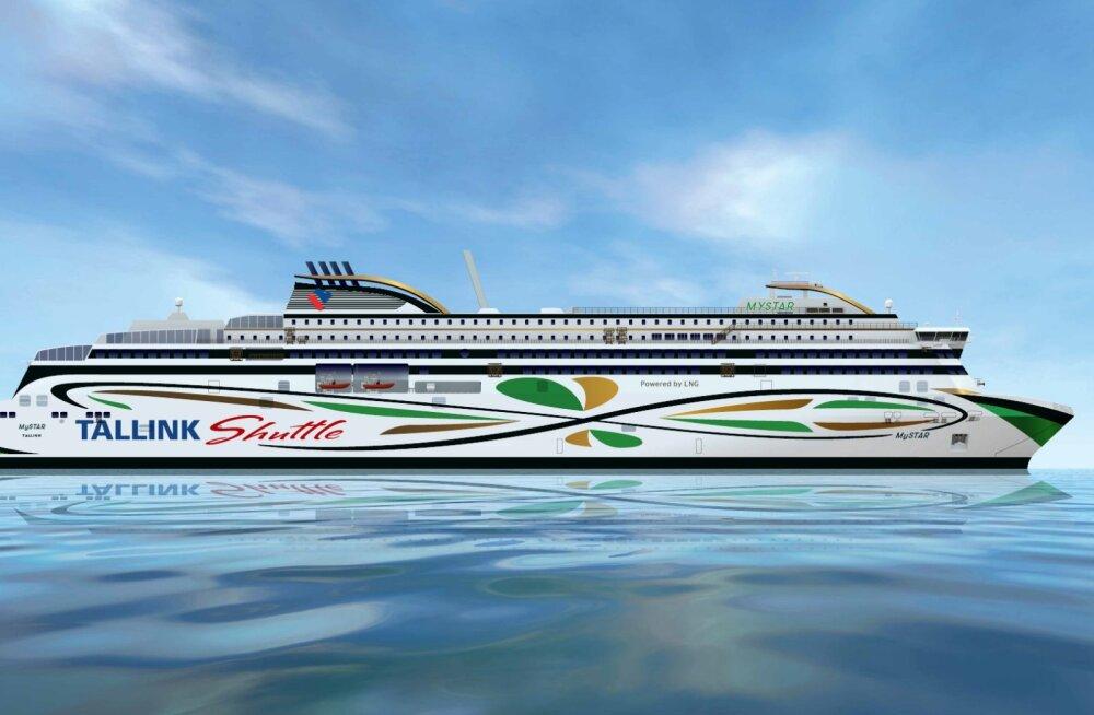 Tallinki uus Tallinna–Helsingi liini laev saab nimeks MyStar