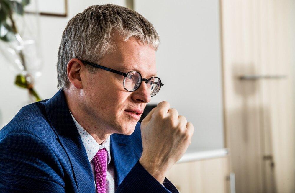 Minister Janek Mäggi