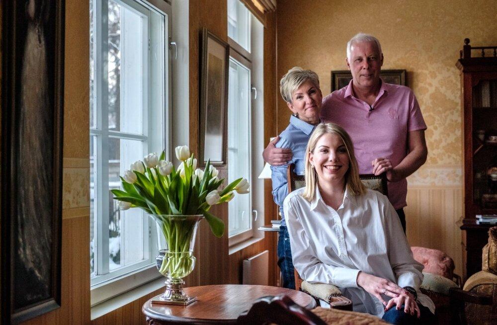 Paul Valliveere perekond