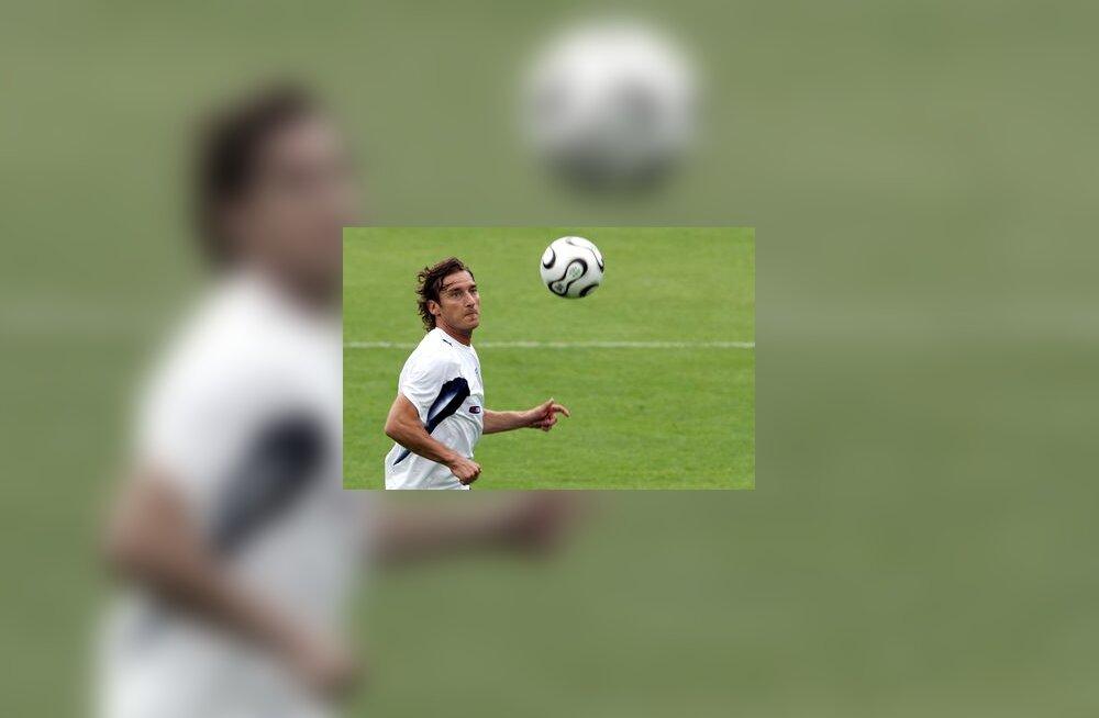 Itaalia jalgpallikoondise ründaja Francesco Totti