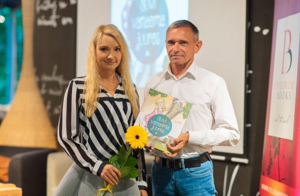 """Elo ja Einar Ellermaa esitlesid lasteraamatut """"Suvi vanaema juures"""""""