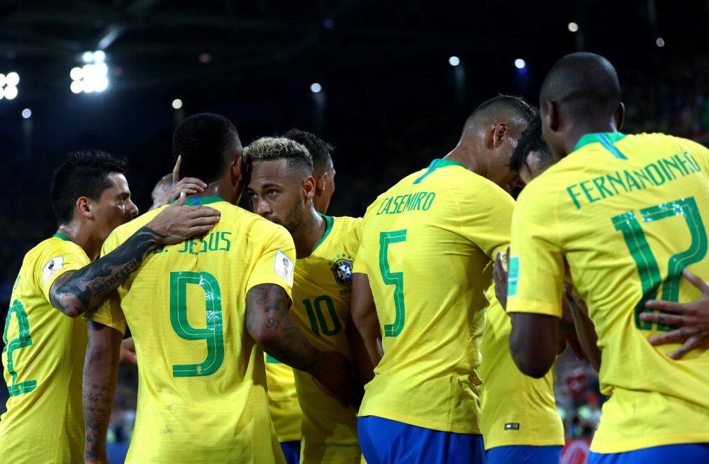 BLOGI | Brasiilia kindlustas edasipääsu, kaheksandikfinaali pääses ka Šveits
