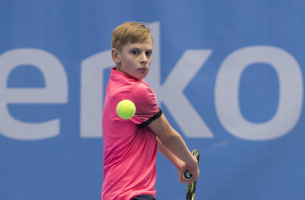 14-aastane Eesti tennisist võitis Soomes Europe turniiri