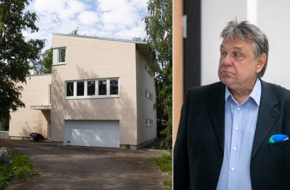 ФОТО: Попавшийся на вождении в пьяном виде и избежавший штрафа Роозилехт владеет недвижимостью на 800 000 евро