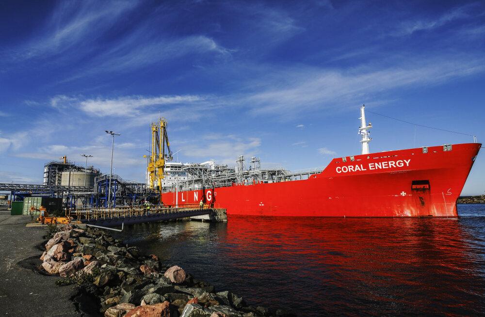 Soome avas esimese LNG terminali
