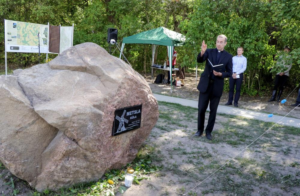 Metsla küla Järvamaal pidas 500 aasta juubelit külaplatsi avamisega