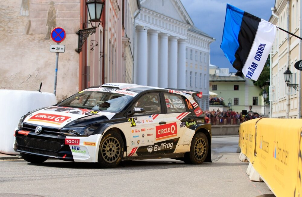 Rally Estonia 2019 SS15 ja poodium