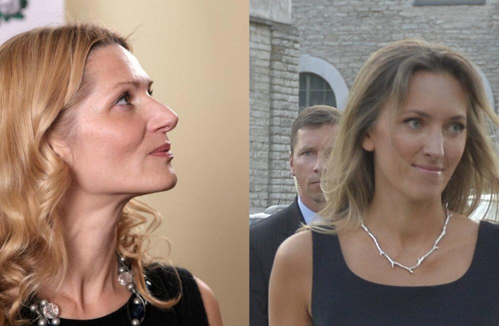 FOTOD: President Ilvese pulma väisas ka pruudi kaunis poolõde Māra Kupce