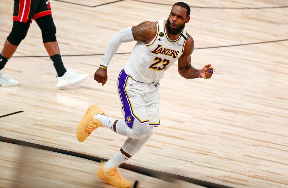 Austust nõudev LeBron James: ma ei lõpeta korvpalliga veel niipea