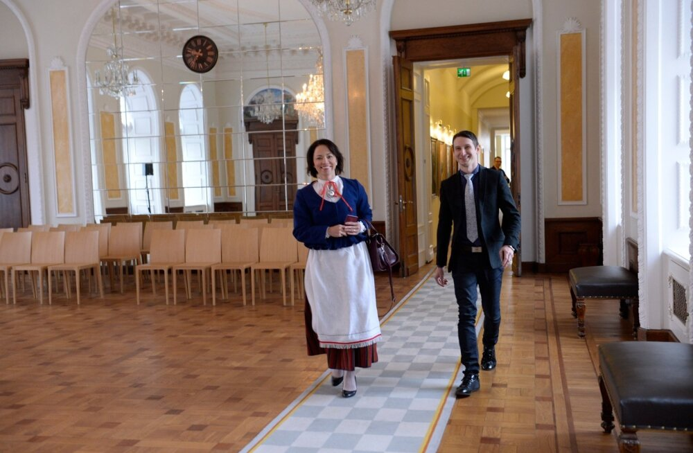 DELFI FOTOD: Riigikogu uued liikmed tulid enne avaistungit koolitusele