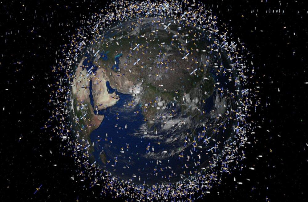 Ohtlik: Maa kohal võivad täna kokku põrgata kaks satelliiti