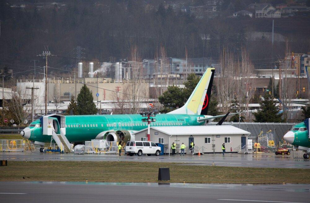 Kõigest lennuõnnetus? USA ei näe põhjust miks Boeing 737 MAX lennukid peaksid seisma