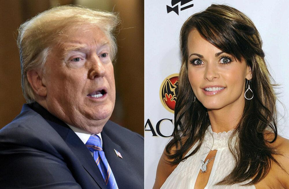 CNN sai endale lindistuse vestlusest, kus Trump püüab salasuhet Playboy modelliga kinni mätsida