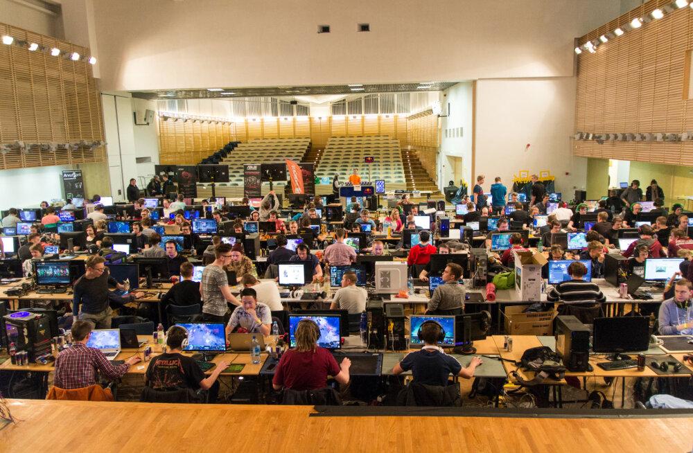 TTÜ e-Sport tähistas juba 20ndat võrgupidu