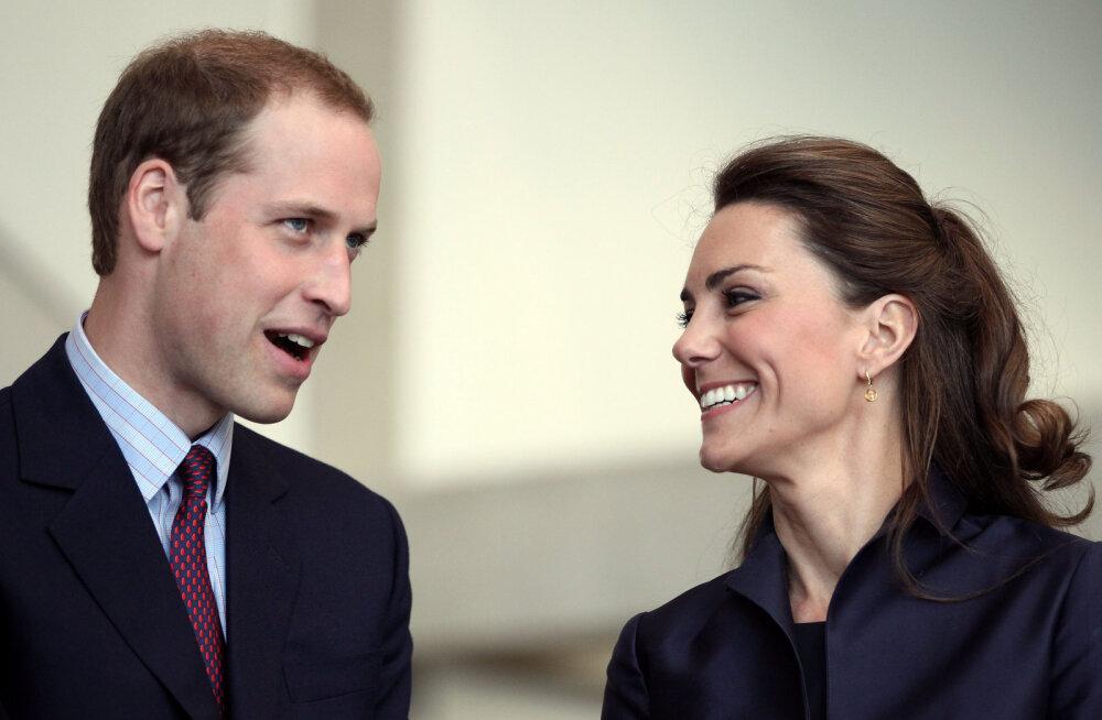 Põnev! Mis saab prints Williami ja Kate Middletoni kolmanda lapse nimeks?