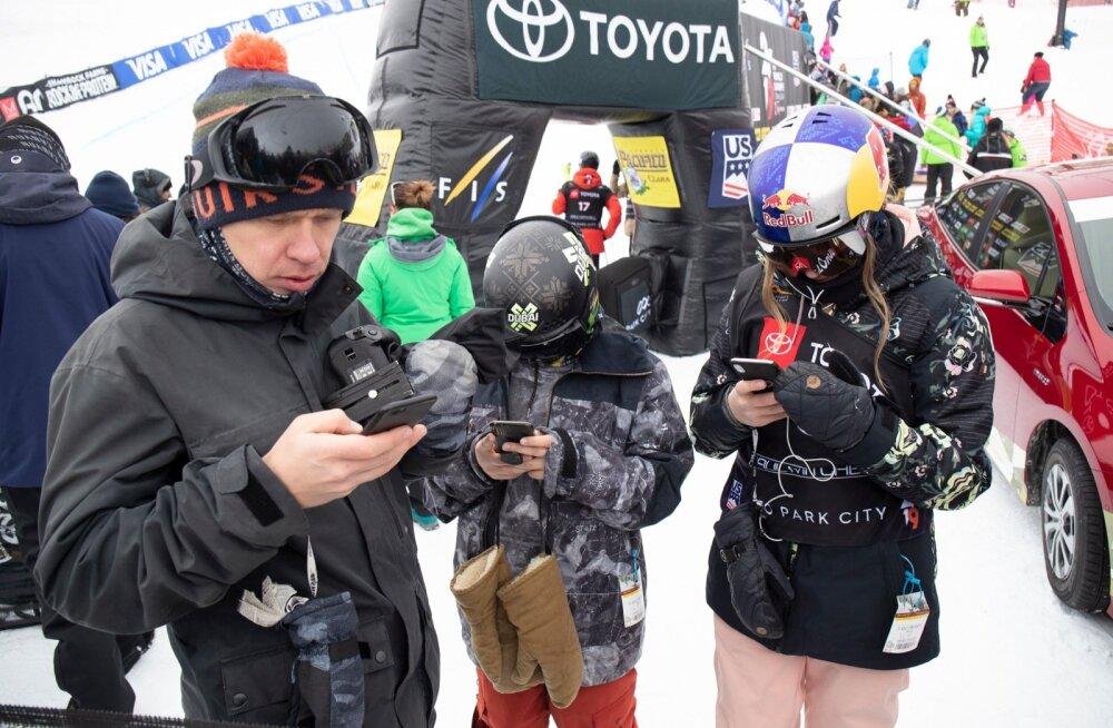 Kelly Sildaru võidule viiv sõit 09.02.2019