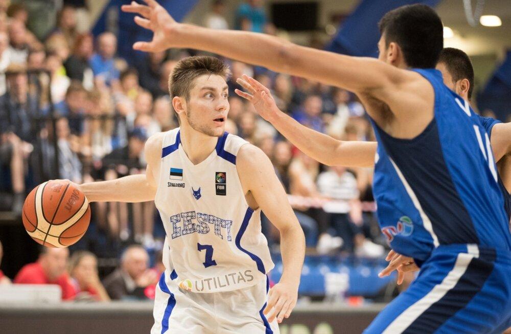 Kristian Kullamäe hiilgas pronksimängus 29 punktiga.