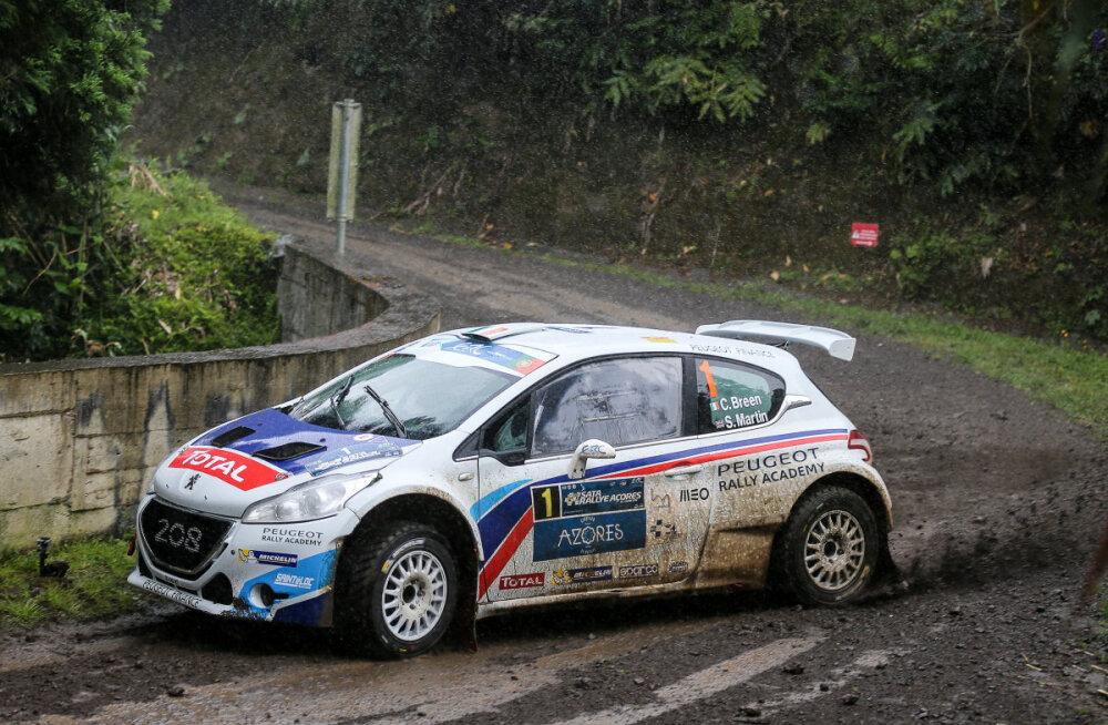 Rally Estonia põletavaim küsimus: kes jääb ühesuguste Peugeot'de duellis peale - Kõrge või Breen?